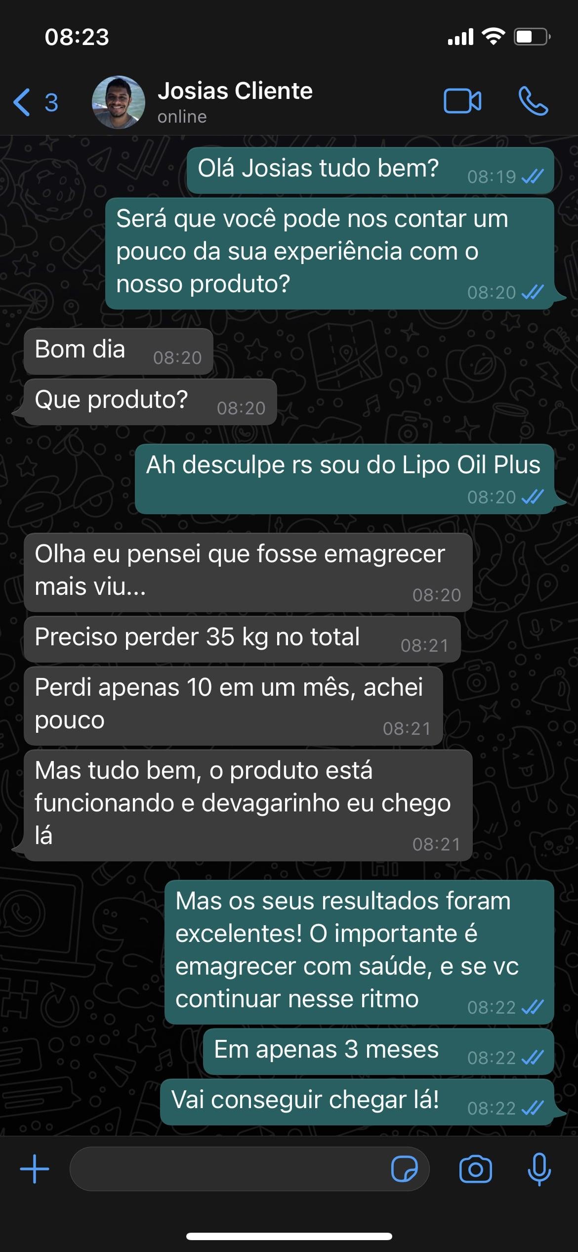 Lipo Oil Plus funciona