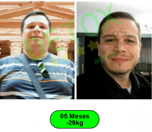 detox caps antes e depois