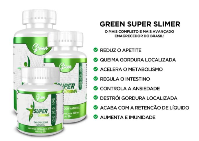 depoimentos do Super Green Slimmer