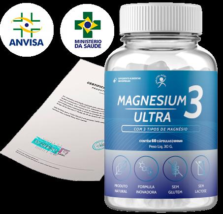 Magnesium 3 Ultra reclame aqui